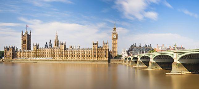 Jeden z setek zegarów Europy - Big Ben, Londyn