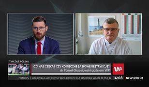 Koronawirus w Polsce. Paweł Grzesiowski: Cmentarze powinny być zamknięte