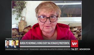 Magdalena Środa przeprasza za swoje słowa o Kindze Dudzie