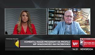Jarosław Kaczyński na mszy bez maseczki. Prof. Krzysztof Simon: nikt nikogo nie ukarze