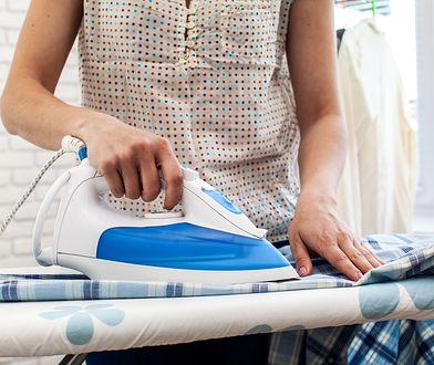 Dobre żelazko powinno sunąć po tkaninie bez oporu