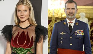 Gwyneth Paltrow miała romans z królem Hiszpanii?!
