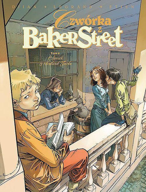 Czwórka z Baker Street - 6 - Człowiek ze Scotland Yardu, Egmont 2020