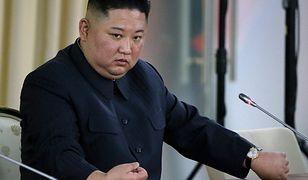 Korea Północna. Na zdjęciu Kim Dzong Un