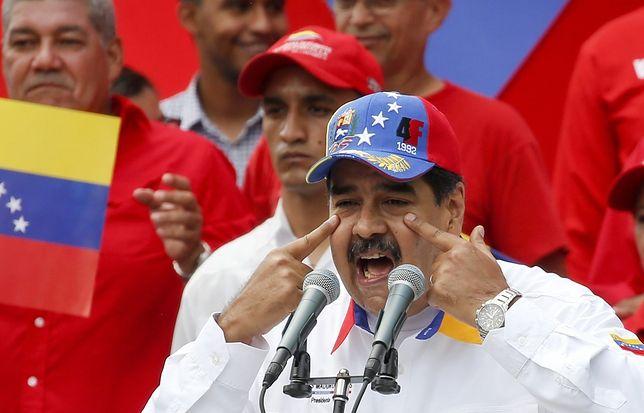 Wspierany przez Rosję prezydent Wenezueli Nicolas Maduro