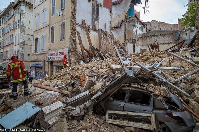Marsylia. Znaleziono zwłoki kolejnej ofiary zawalenia