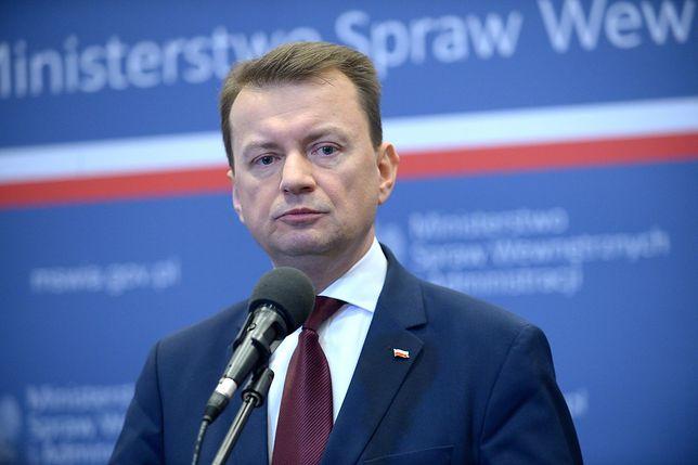 """Błaszczak ostro o Gronkiewicz-Waltz. """"Unika odpowiedzialności"""""""