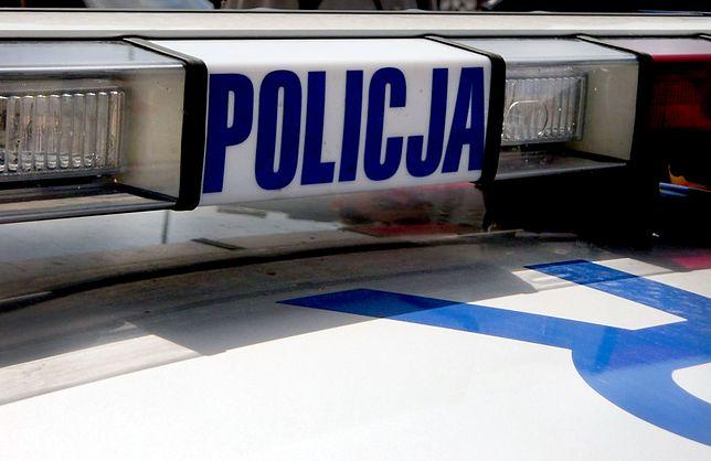 Policja prowadzi oględziny na DK 7