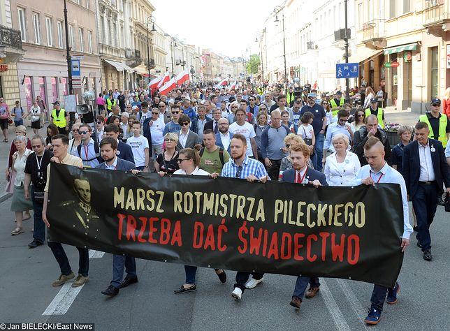 Marsz Pileckiego przeszedł ulicami Warszawy.