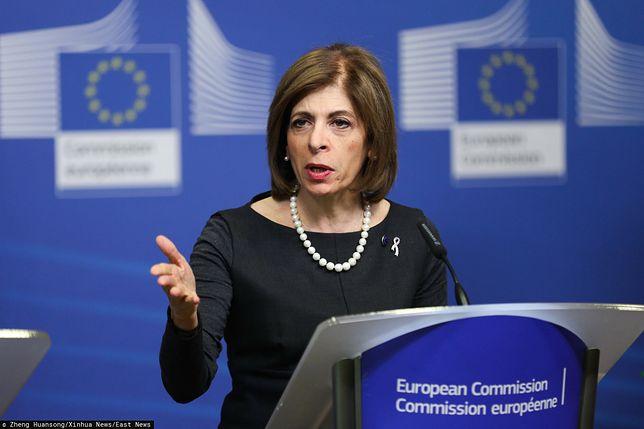 Niemcy. Unijna komisarz Stella Kyriakides przestrzega przed kolejnymi komplikacjami związanymi z epidemią koronawirusa