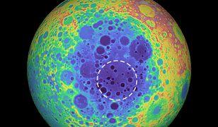 Ogromna anomalia zmienia pole grawitacyjne Księżyca