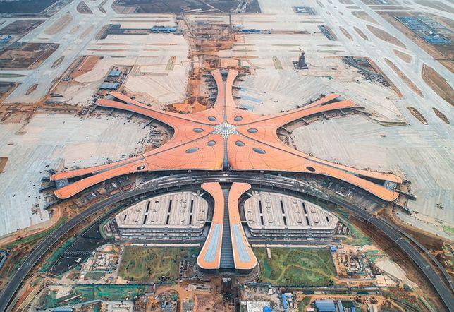 Największy port lotniczy na świecie powstaje w Chinach