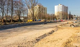 Plac budowy z Wołoskiej rozszerzy się na Woronicza