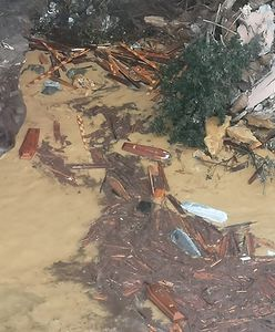 Włochy. W Camogli koło Portofino do morza runęła część cmentarza. 200 trumien osunęło się z klifu