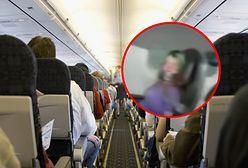 Awantura na pokładzie samolotu. Agresywna pasażerka została zaklejona taśmą