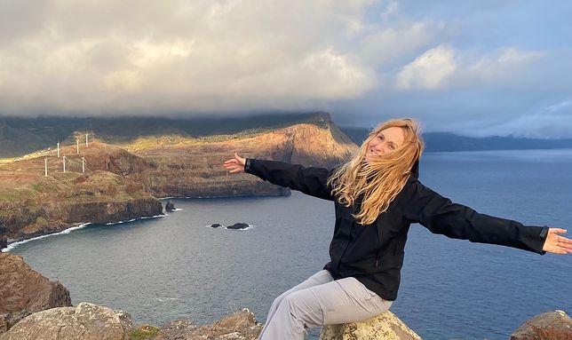 Madera urzeka na każdym kroku. Na zdjęciu Marta Podleśna - autorka tekstu