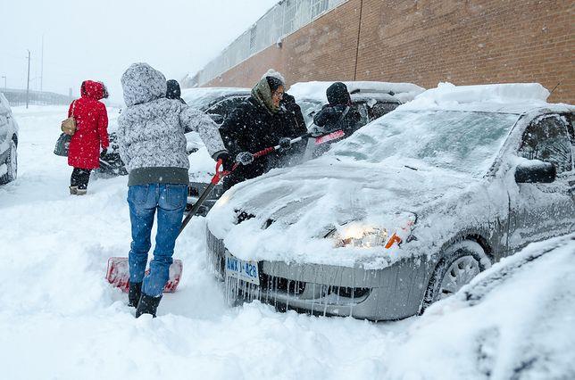 Atak zimy paraliżuje Kanadę. Szokująco niskie temperatury