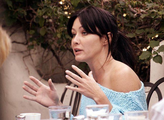 Shannen Doherty  z Beverly Hills 90210. Wygrała walkę z rakiem