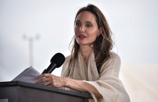 Angelina Jolie przerażająco chuda. Media donoszą, że nie jadła 34 dni
