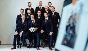 Tak będą wyglądały garnitury polskiej reprezentacji na Mistrzostwach Świata w Rosji.