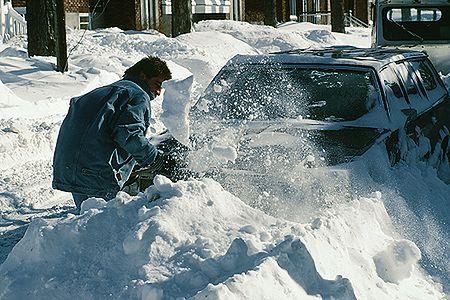 Polski kierowca przez cztery dni uwięziony w szwedzkiej zaspie śnieżnej