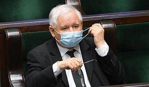 Prezes PiS, Jarosław Kaczyński / fot. Radek Pietruszka