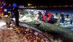 W wypadku ucierpiało 12 osób