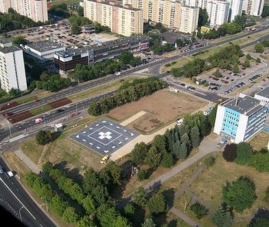 Heliport w Szpitalu Bródnowskim [ZDJĘCIA]