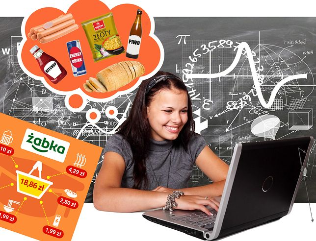 Student to bardzo zajęty gatunek człowieka, dlatego sprawdzam, gdzie najtaniej zrobi zakupy artykułów pierwszej potrzeby.