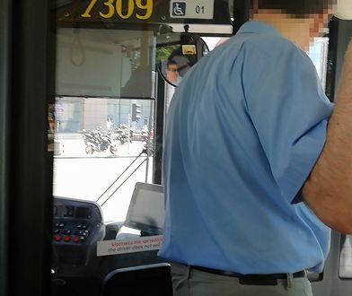 Awantura w autobusie. Kierowca: ja tu jestem panem!
