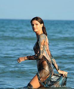Isabeli Fontana plażuje w Wenecji. Właśnie zaczyna się słynny festiwal!