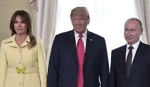 Melania Trump nie wyglądała na szczęśliwą