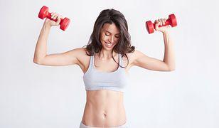Ćwiczenia na ramiona z Mel B przynoszą szybkie efekty