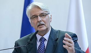 Niefortunne wypowiedzi ministra Waszczykowskiego
