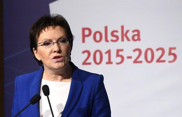 Ewa Kopacz: Rosja powinna odczuć, że UE nie zgadza się na agresję