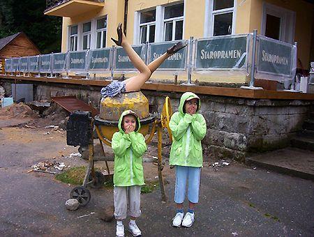 Zdjęcie wykonane w Teplickich Skałach