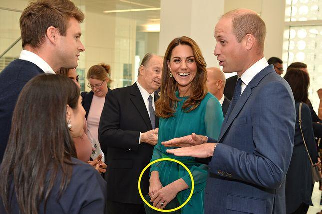 Księżna Kate i książę William podczas spotkania w Aga Khan Centre