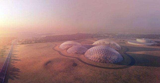 Dubaj chce stworzyć makietę miasta, które zostanie za 100 lat odtworzone na Marsie