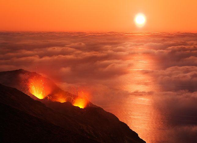 Stromboli - latarnia Morza Śródziemnego