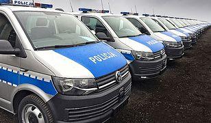 Policja kupiła VW Transportery
