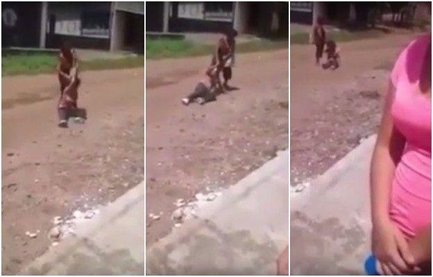 """Potraktowała córkę """"jak psa"""". Szokujące nagranie przemocy wobec niepełnosprawnego dziecka"""