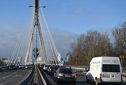 Znaczne ograniczenie prędkości na Moście Świętokrzyskim