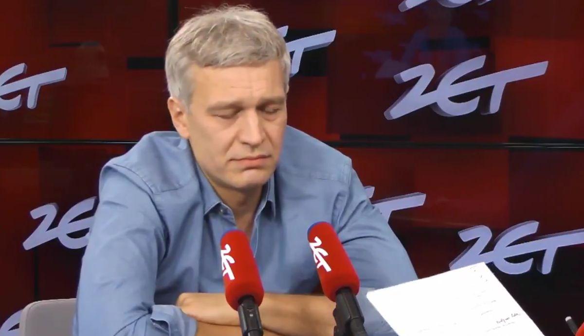 """Żebrowski chwali Trzaskowskiego. """"Wiem, że to człowiek mądry, uczciwy i dobry"""""""
