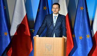 Po wystąpieniu Mateusza Morawieckiego były żołnierz AK, prof. Ryszard Krasnodębski, postanowił opuścić salę na znak protestu