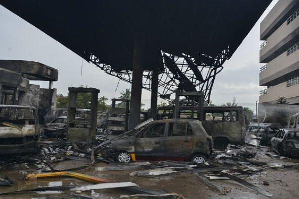 150 osób zginęło w stolicy Ghany, m.in. w pożarze stacji benzynowej