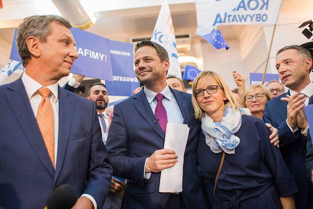 Rafał Trzaskowski i Patryk Jaki