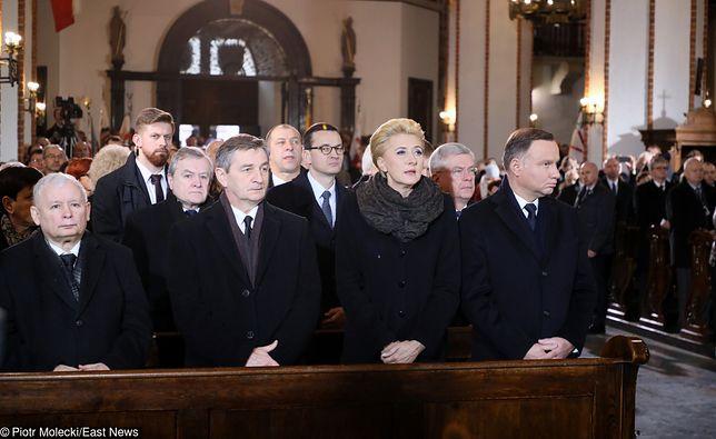 Władze państwowe na pogrzebie Jana Olszewskiego