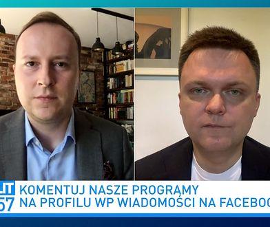 """Szymon Hołownia o współpracy z celebrytami. Mówi o """"telefonach z partii"""""""