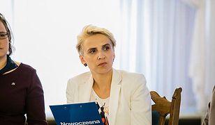 Posłanka Nowoczesnej Joanna Scheuring-Wielgus pozywa autora wulgarnych wiadomości