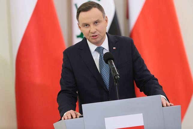 Czy Andrzej Duda odwidzi groby Polaków w Charkowie?